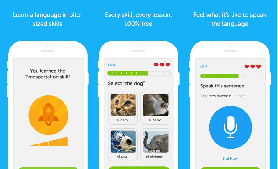 Duolingo will help you learn another language.