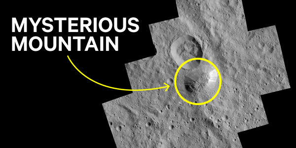 NASA can't explain this mountain on dwarf planet Ceres ...