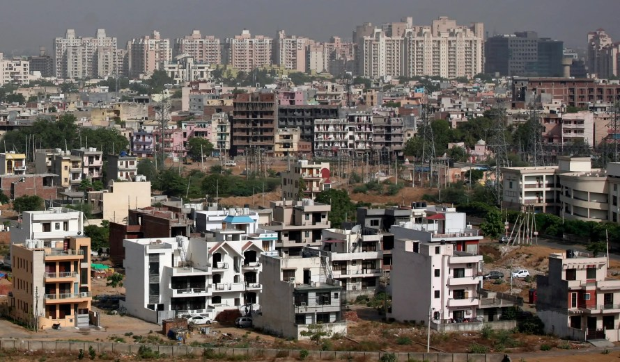 Gurgaon had a population of approximately 173,000 in 2001. Today, it's nearing 1 million, with residents living in garbage-strewn shanties and luxury high-rises.