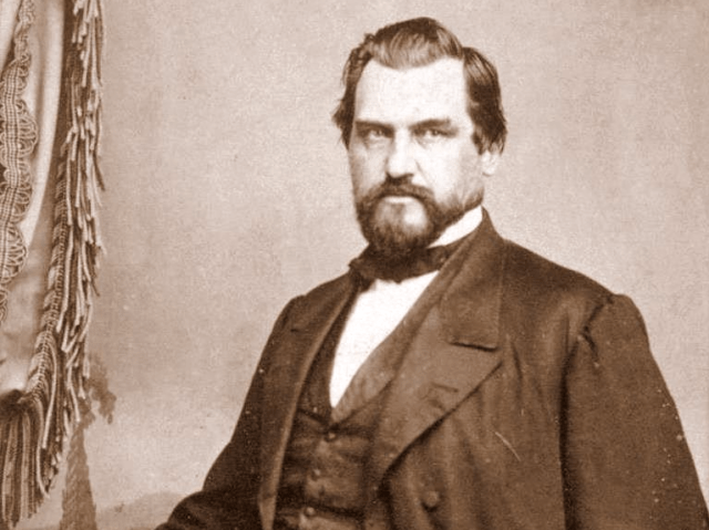 Leland Stanford was a railroad magnate turned politician. He also founded Stanford University.