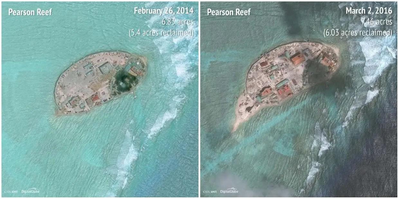 Pearson Reef: 2014 - 2016