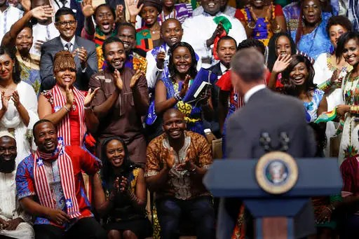 Image result for barack obama with foreigners