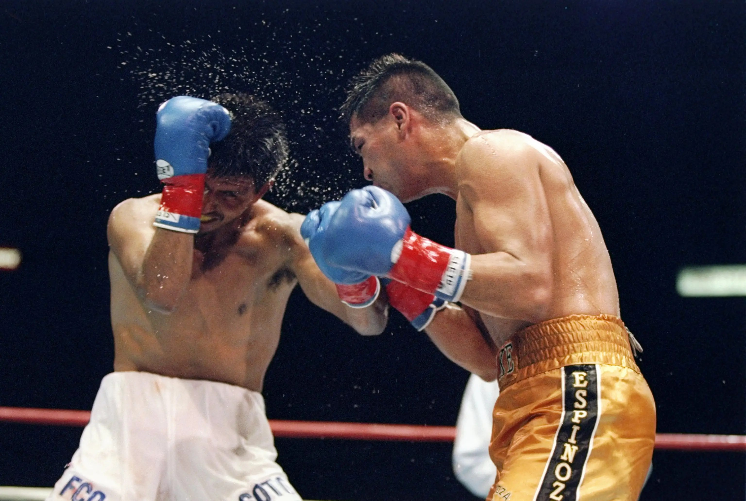 He got his start in the 1990s as a boxing photographer.