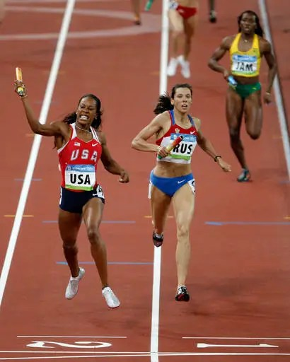 Russia stripped of 2008 women's relay medal in doping case ...