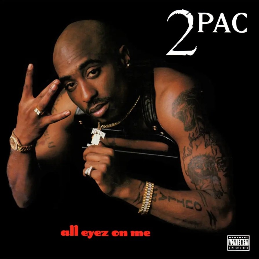 """""""All Eyez on Me,"""" Shakur's 1996 double album for Death Row, would be the biggest release of his career — selling over 10 million copies to date — and the last before his death. Leading up to its release, Shakur and East Coast rapper Notorious B.I.G. became embroiled in a rap conflict over opposing diss tracks."""