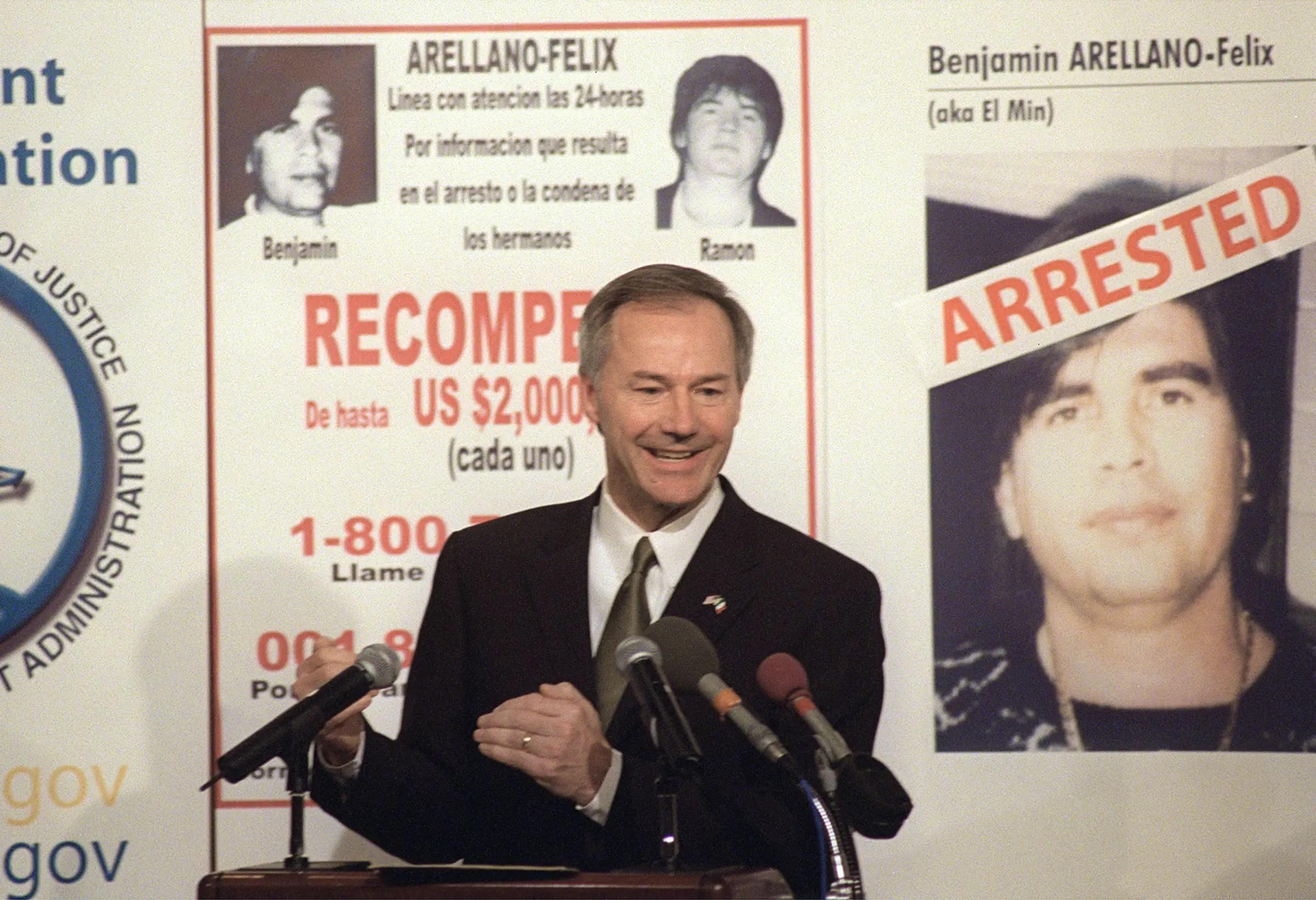 Benjamin Arellano Felix arrested Mexico drug trafficker extradition
