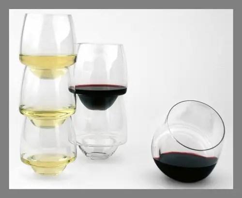 Spill-proof glasses
