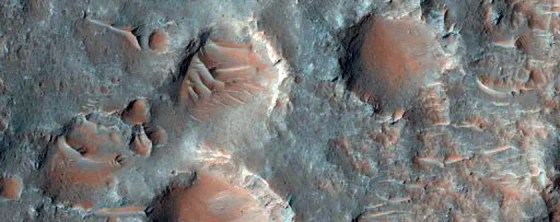 A fracture in the floor of Upper Morava Valles.