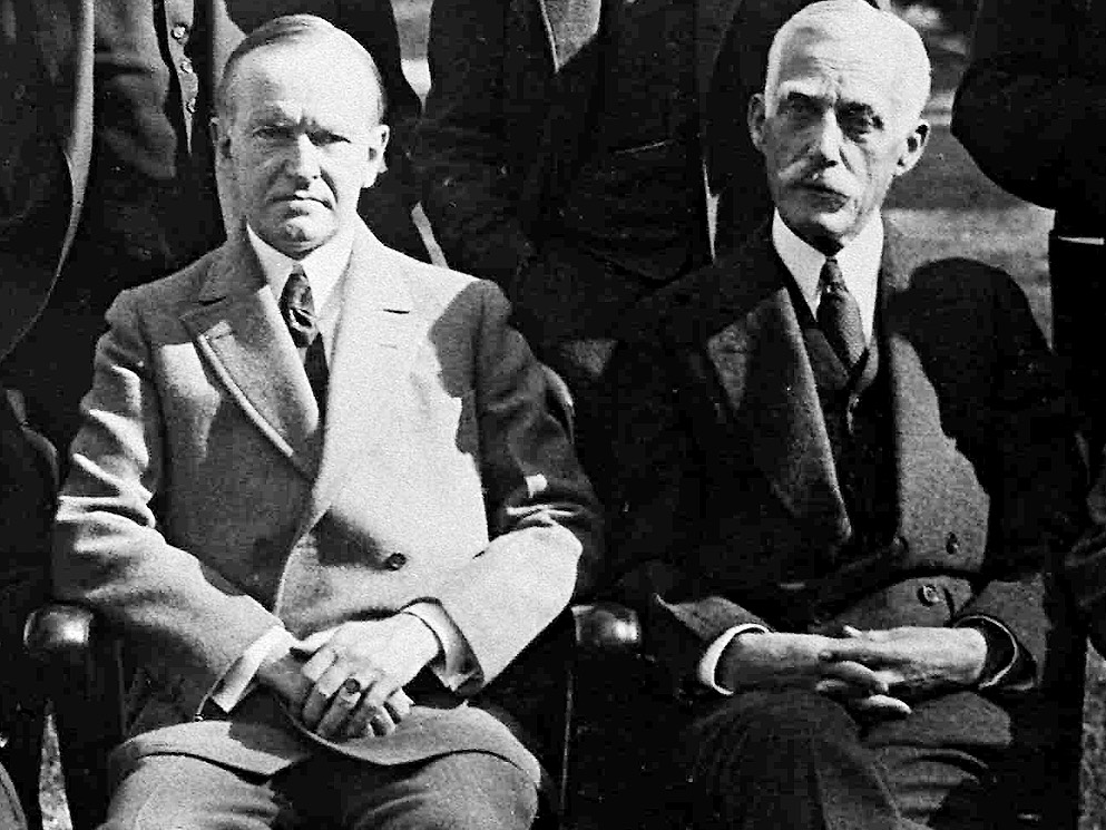 Calvin Coolidge and Andrew Mellon