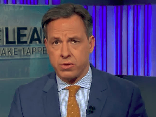 CNN's Jake Tapper gave a one-word response to a top Trump ...