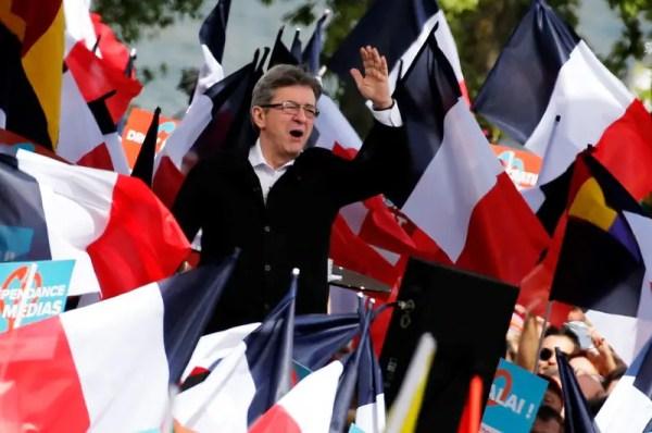 Far-left veteran Melenchon draws big crowd as French ...
