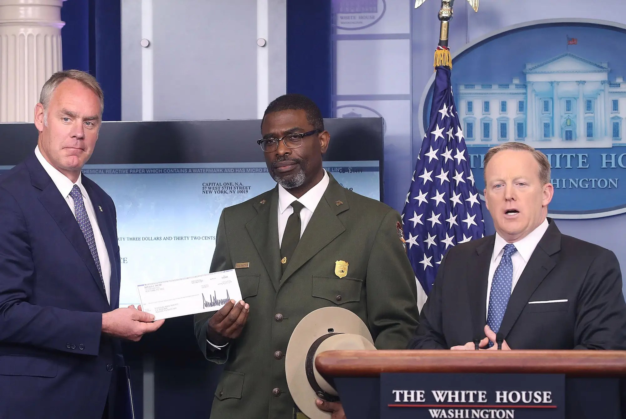 Presidential proclamation, April 14: National Park Week