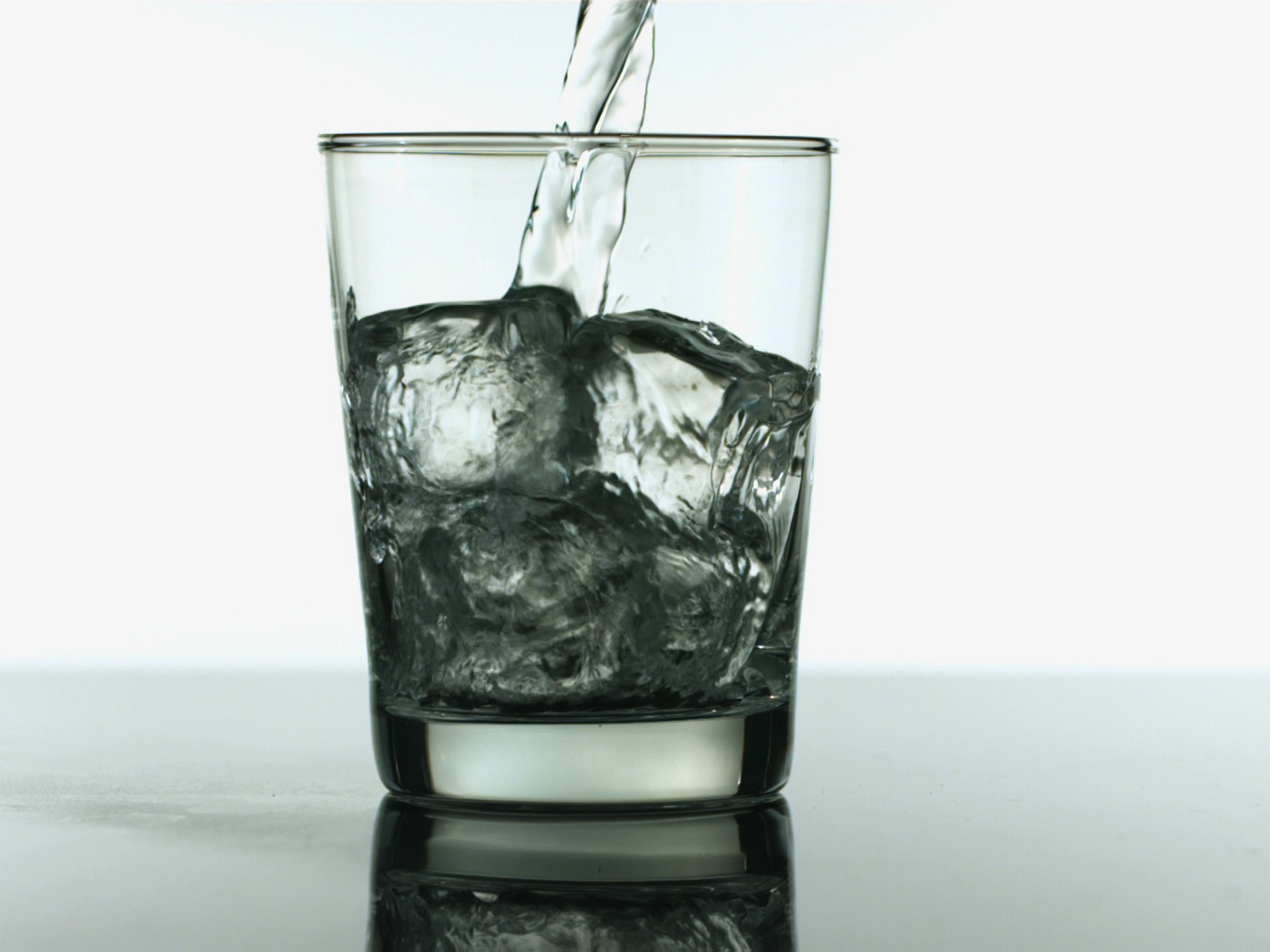 You need to drink eight glasses of water a day