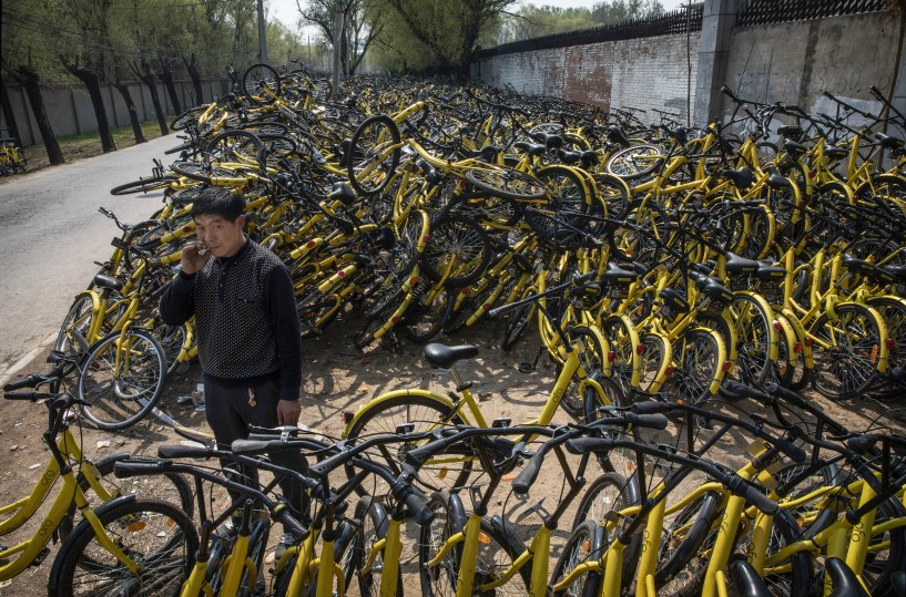 Ofo China bike share