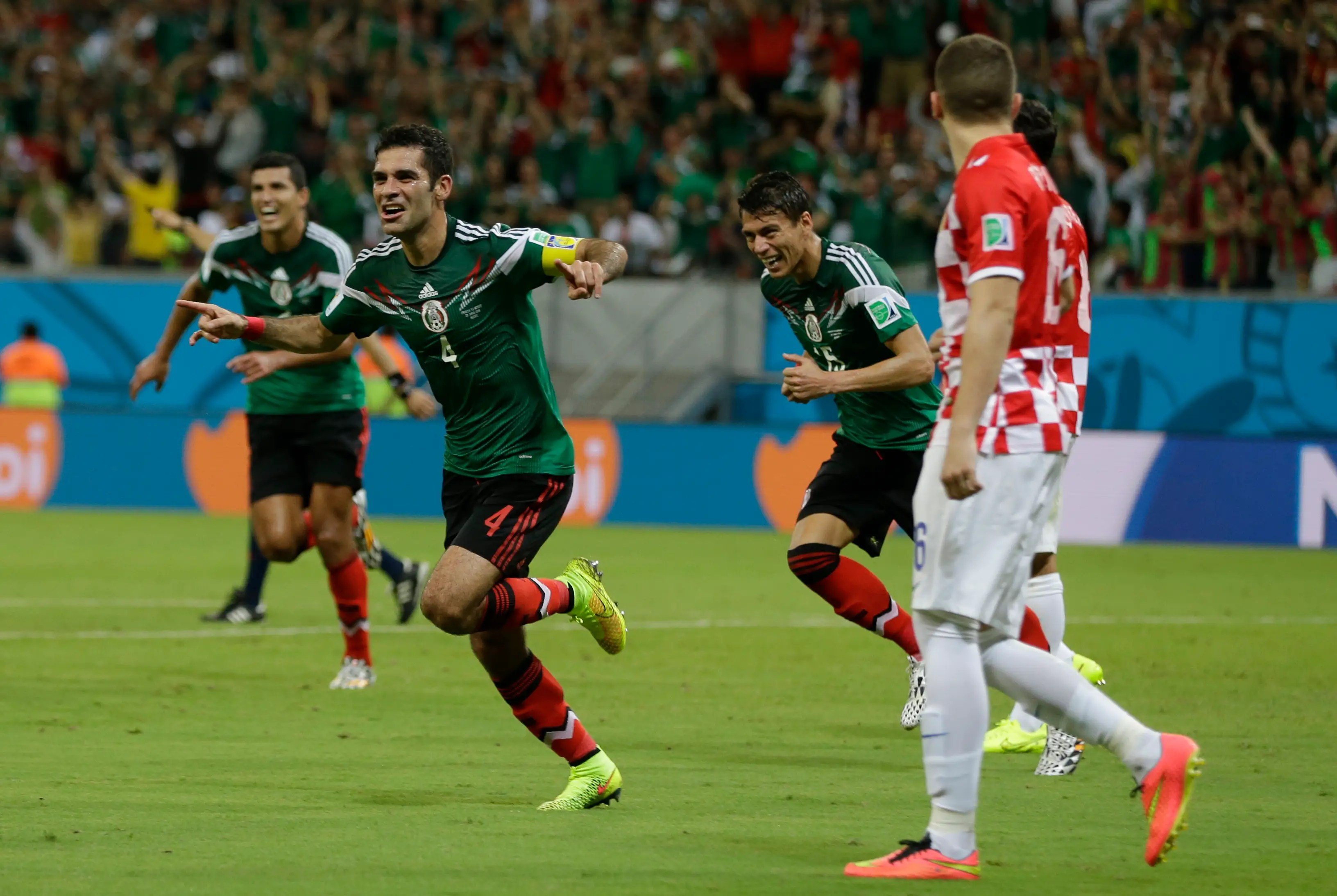 Rafael Marquez Mexican soccer player 2014 World Cup