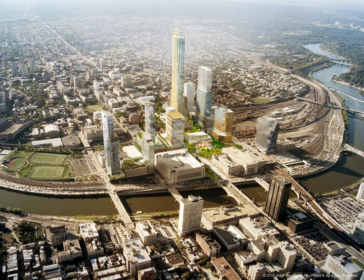 Philadelphia, Pennsylvania — Three sites that would collectively span 28 million square feet