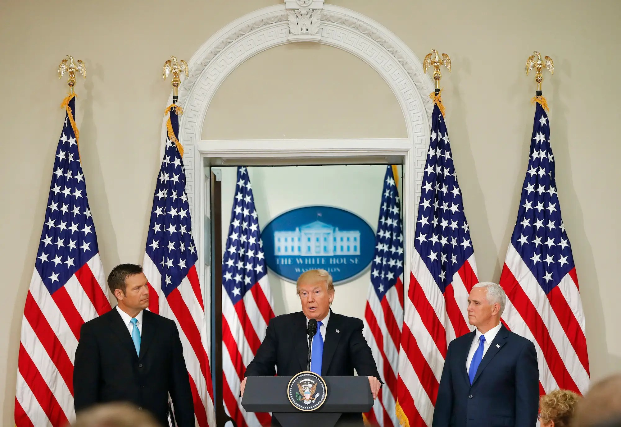 Kris Kobach trump pence election Commission voter fraud