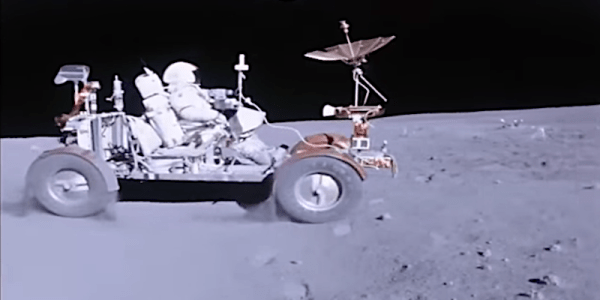 NASA video shows how Apollo 16 astronauts drive on the
