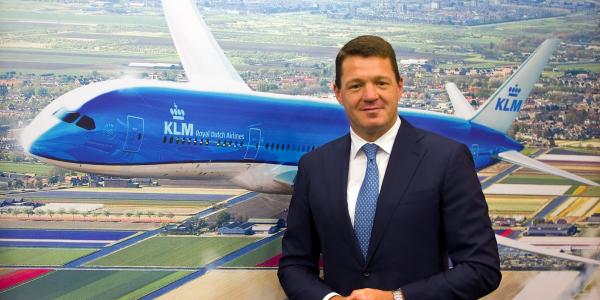 KLM CEO Pieter Elbers explains a major airline industry ...
