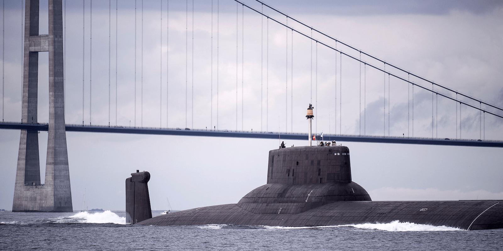 Russia navy submarine