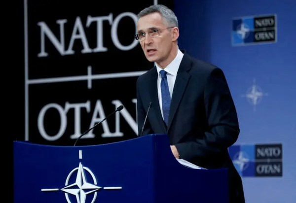 NATO chief to meet Britain's Johnson over attack, warns ...