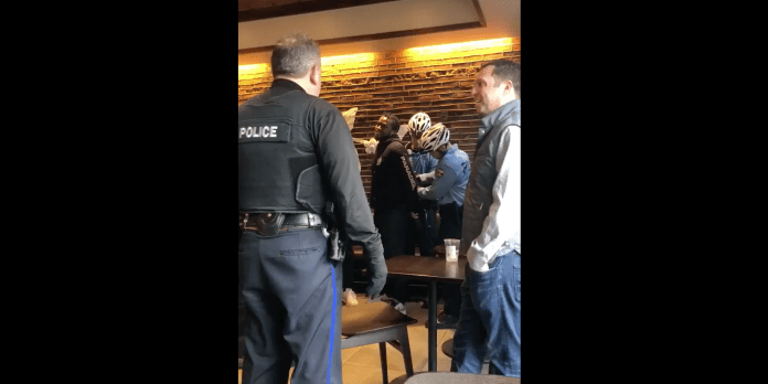 starbucks arrest