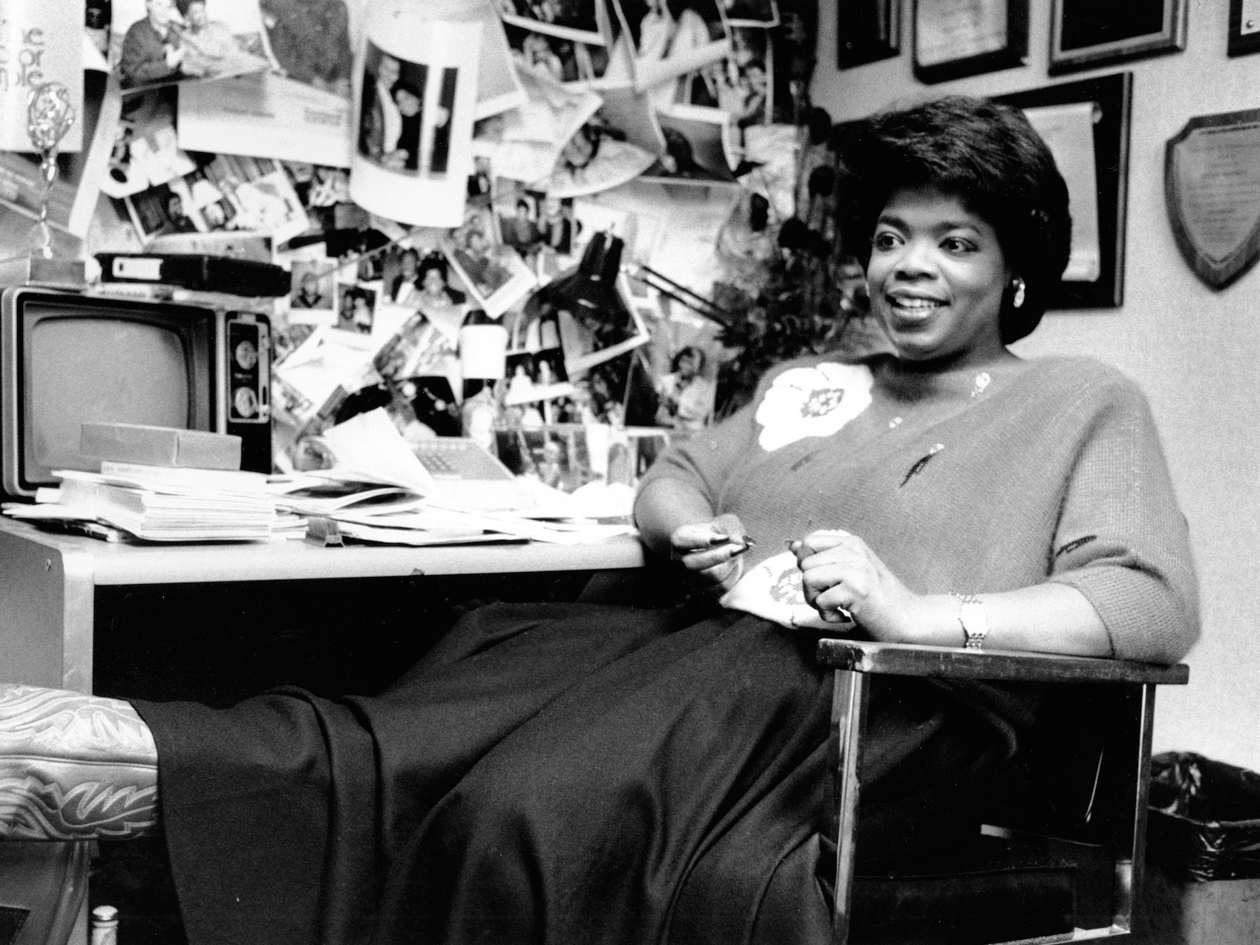 "Winfrey was instead placed on a local talk show, interviewing celebrities. ""I felt like this is what I'm supposed to do. All these years I'd been misplaced in news because I couldn't relate,"" Winfrey said on ""The Oprah Winfrey Show."" ""The moment I did that talk-show I felt like, 'Oh, I can be myself' and … that was the beginning of fulfilling the calling."""