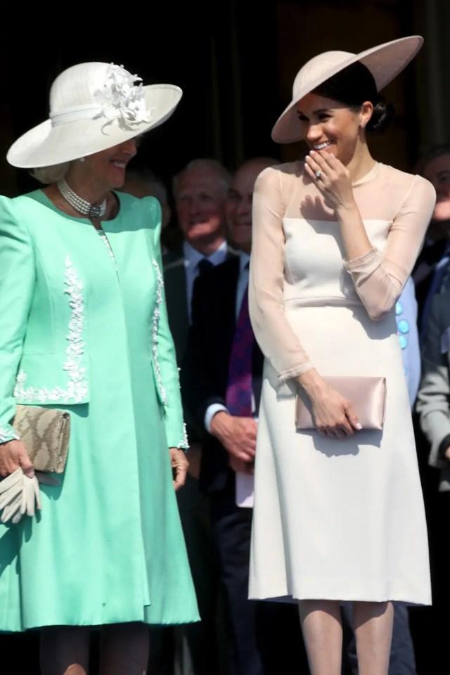 Meghan and Camilla