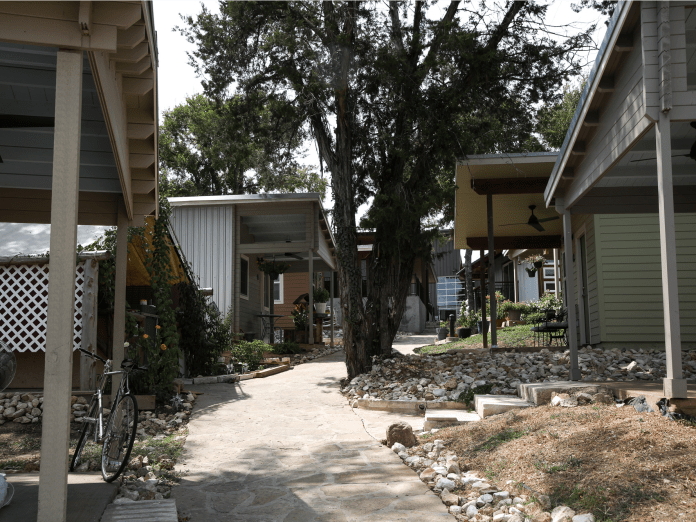 Austin's homeless crisis is so dire, a nonprofit built an  million tiny home village to get the chronically homeless off the streets. Take a look inside Community First Village.