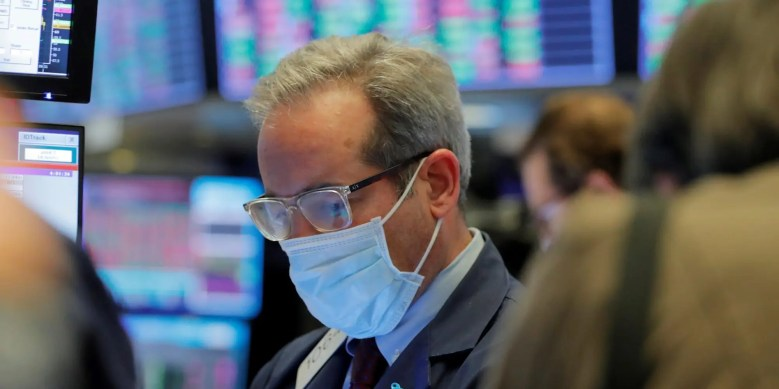 nyse trader mask