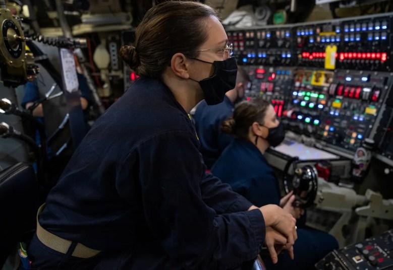 Navy submarine Ohio sailor