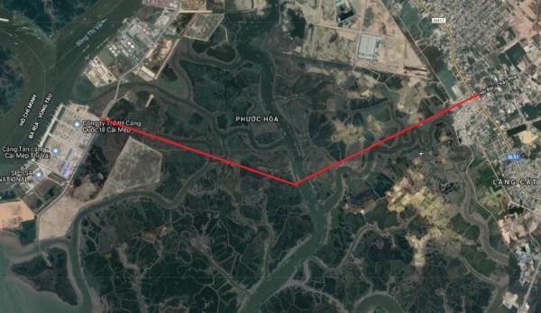 Ngày 17/5: Động thổ dự án Đường 991B nối cảng Cái Mép - Thị Vải với Quốc lộ 51