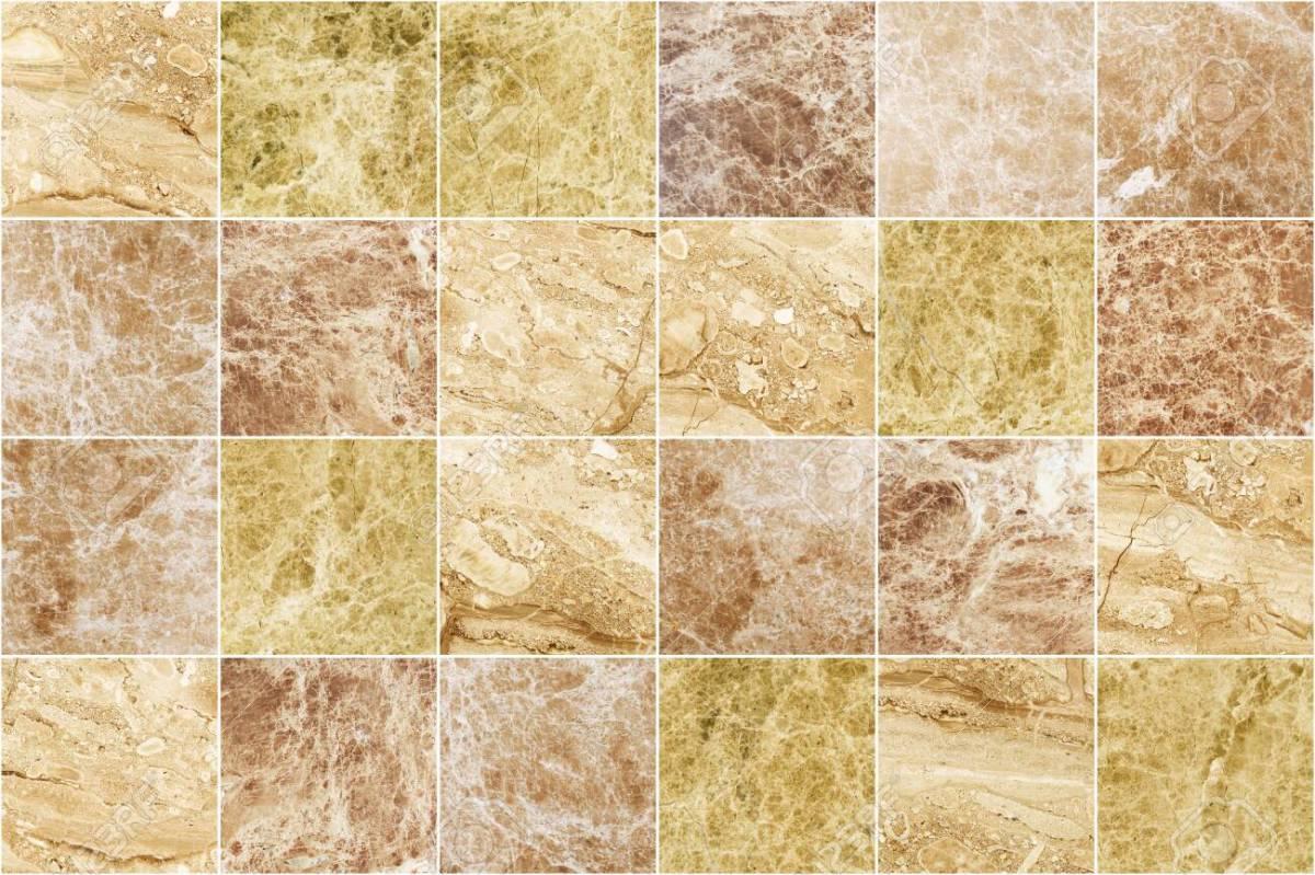 Một số mẫu gạch giả vân đá marble vàng