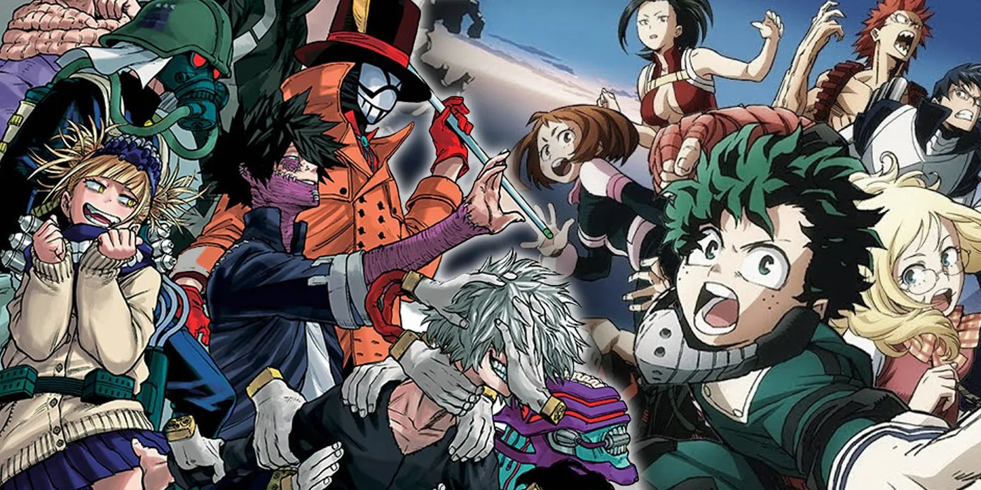 The most evil organization is here! League of Villains: Who's On My Hero Academia's Evil Team ...