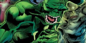 The Hulk dies after a disgusting attack that removes his skin from his bones