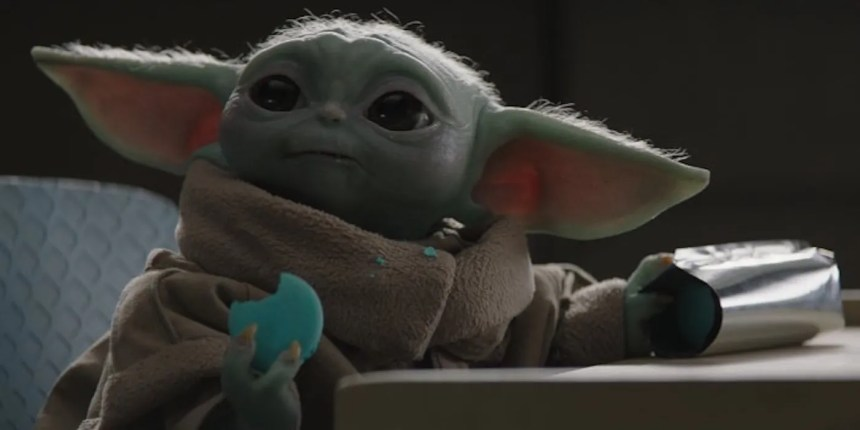 You Can Buy The Mandalorian Baby Yoda Cookies for Real