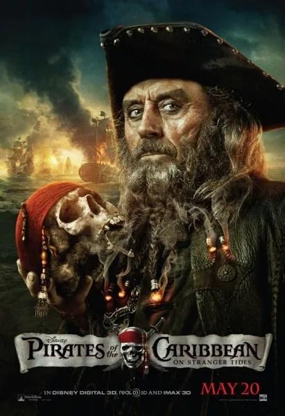 on stranger tides movie poster