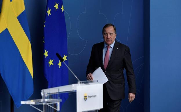 Swedish Prime Minister Stefan Lofven explains the reasons for his resignation.