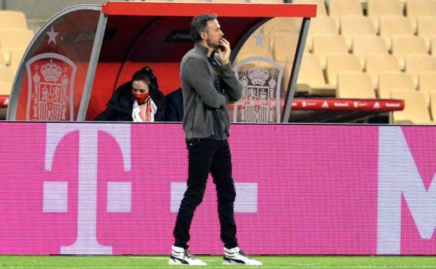 Luis Enrique: «They are the nights when everything comes out»