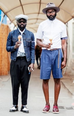 Sam & Shaka, Photographed in Florence - Click Photo To See More