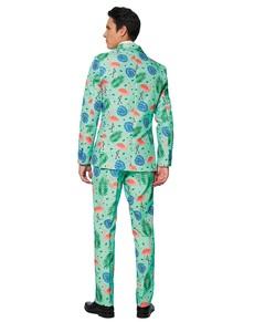Tropical Flamingo Suit for Men £39.95