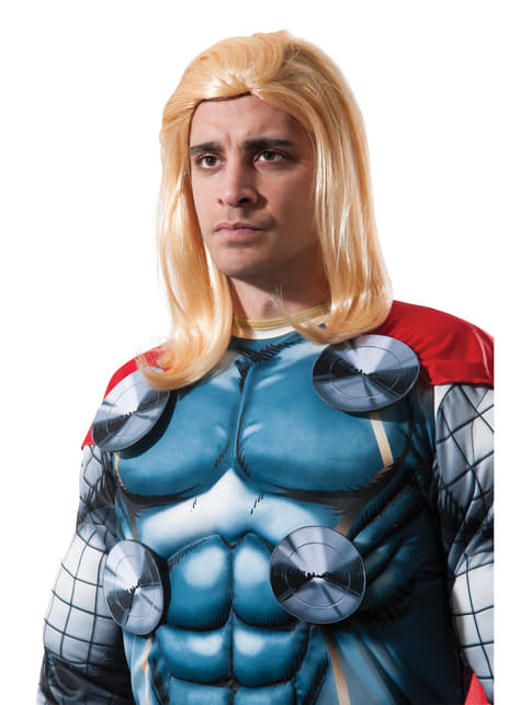 perruque thor marvel adulte