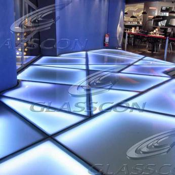 Illuminated Glass Floor Amp Walkways Glasscon Gmbh