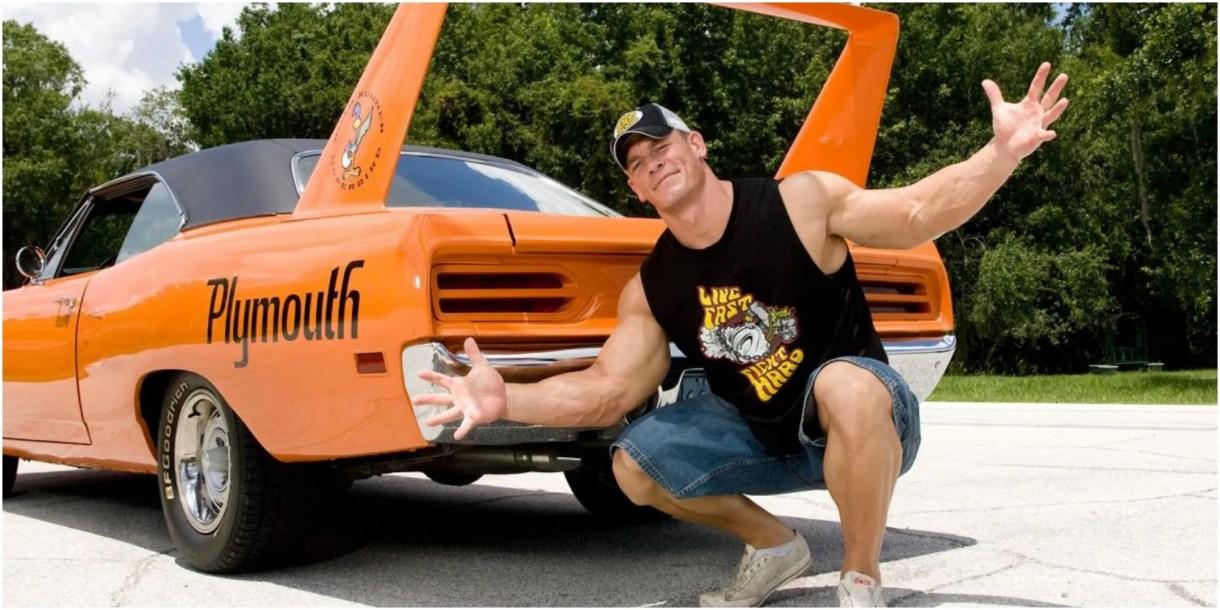 15 Stunning Pics Of John Cena's Car Collection