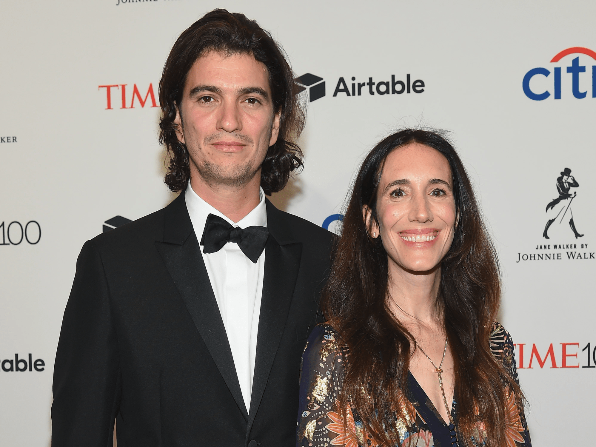 NEW YORK, NY - APRIL 24: WeWork Co-Founder and CEO Adam Neumann and Rebekah Paltrow Neumann attend the 2018 Time 100 Gala at Jazz at Lincoln Center on April 24, 2018 in New York City.