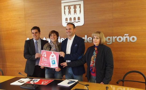 Los comerciantes de Logroño ofrecerán aparcamientos gratuitos a sus clientes