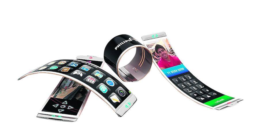 El desarrollo de los móviles con pantalla flexible sigue su curso imparable gracias al grafeno. Las compañías lo dejaron claro en el último Mobile World Congress.