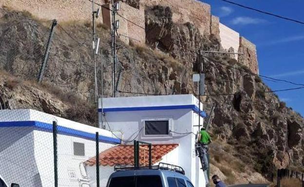 Facilities of the company Aguas de Lorca.
