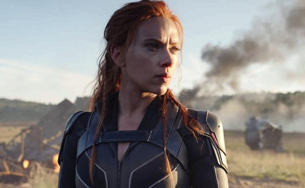 Scarlett Johansson reprises her role as Natasha Romanoff, aka Black Widow.