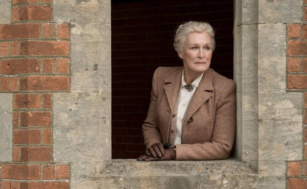 Glenn Close, in 'The Crooked House'.